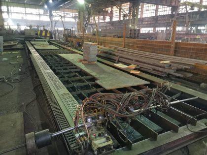Установка газовой резки листового металлопроката