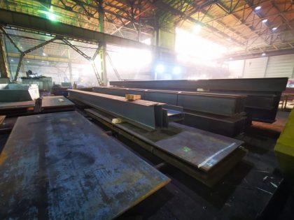 Закрытый склад металла